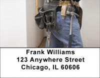 Handyman Tools Address Labels