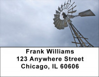 Midwest Windmills Address Labels | LBZSCE-06