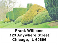 Dreamy Topiary Gardens Address Labels | LBZSCE-12