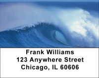 Big Waves Address Labels | LBZSCE-39