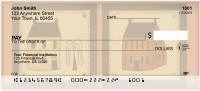 Americana Folk Art Personal Checks | QBA-21