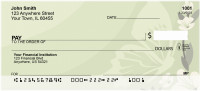 Butterflies And Blossoms Personal Checks | QBA-79