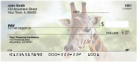 Towering Giraffe Personal Checks | QBC-57