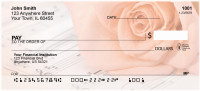 Rose Serenade Personal Checks | QBE-83