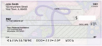 Shabby Chic Monograms - T Personal Checks | QBL-79