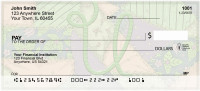 Shabby Chic Monograms - U Personal Checks | QBL-80