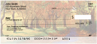 Fall Landscape Painting Personal Checks | QBP-65