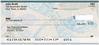 Jeweled Dragonflies Personal Checks | QBS-15