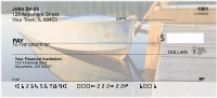 Vintage Fishing Boats Personal Checks | SCE-74