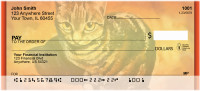 Cat Portrait Personal Checks