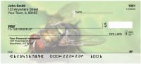 Fern With Insects Personal Checks | ZNAT-49