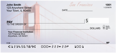 San Francisco Bridge Personal Checks | BBC-78