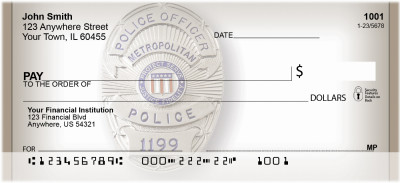 Police Badge Personal Checks | BBE-80