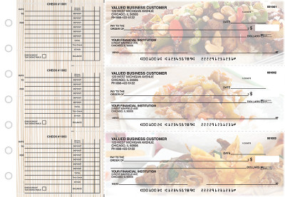 Chinese Cuisine Accounts Payable Designer Business Checks | BU3-CDS04-DED