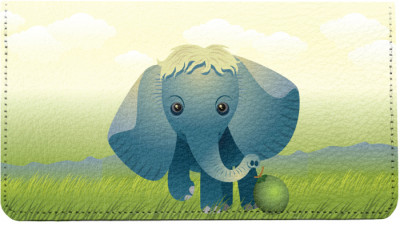 Baby Animals Elephant Leather Cover | CDP-ANK73A