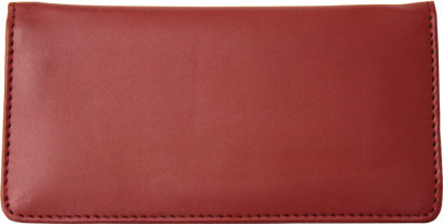 Burgundy Smooth Leather Checkbook Cover | CLP-BUR02