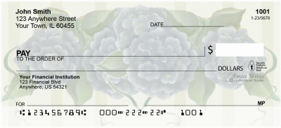 Flowers Personal Checks by Lorrie Weber | JHS-03