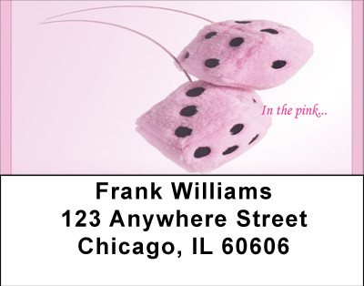 In The Pink Address Labels | LBBBC-11