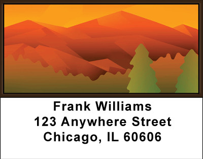 Mountain Magic Address Labels | LBBBC-84
