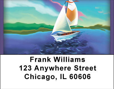 Sailor's Dream Address Labels | LBBBH-50