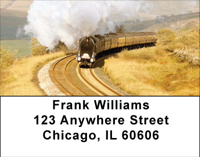 Trains Of The Heartland Address Labels | LBBBH-73