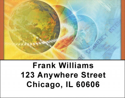 Global Focus Address Labels | LBQBD-77