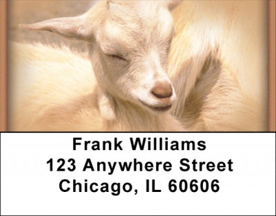 Goats Address Labels | LBZANI-28