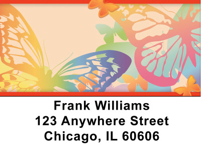Butterfly Collector Address Labels | LBZani-50