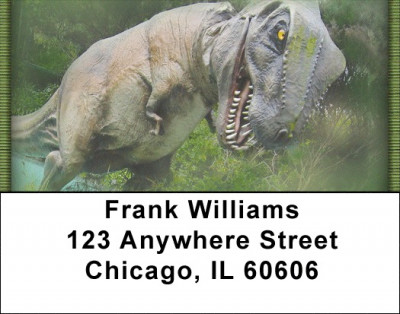 Dinosaurs Nextdoor Address Labels | LBZANK-01