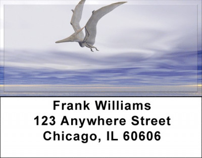 Flying Dinosaurs Address Labels | LBZANK-63