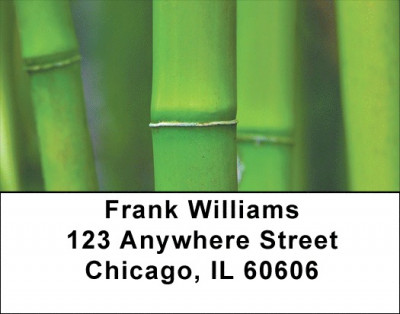 Bamboo Address Labels | LBZNAT-18