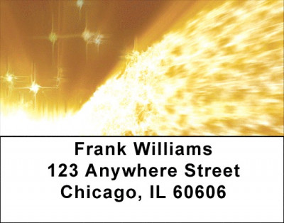 Spectacular Planetary Views Address Labels | LBZSPA-04