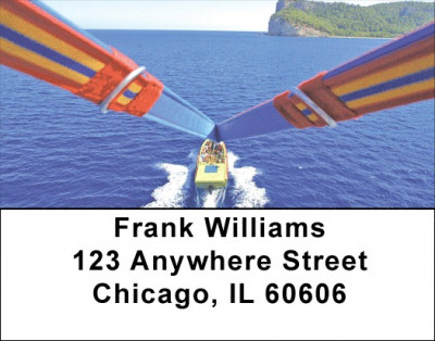 Parasailing Address Labels | LBZSPO-22