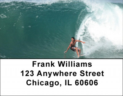 Extreme Surfing Address Labels | LBZSPO-59