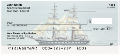 Clipper Ships Personal Checks | SAI-02