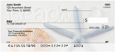 Beachy Blue Personal Checks | ZSCE-27