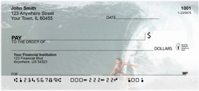 Extreme Surfing Personal Checks | ZSPO-59