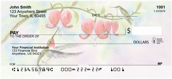 Hummingbird Magic Personal Checks | ANI-21