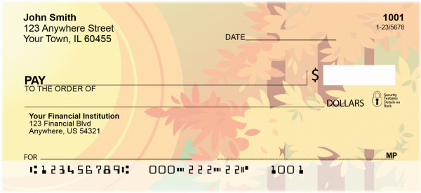 Indian Summers Personal Checks | BBA-48