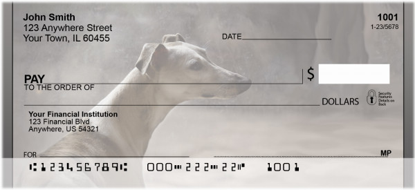 Graceful Greyhounds Personal Checks | BBA-99