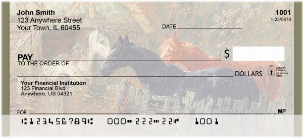 Country Farm Personal Checks | BBB-63