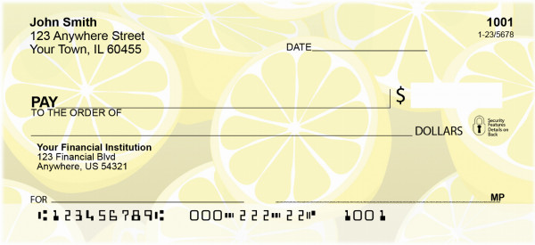 Lemons Personal Checks | BBB-93