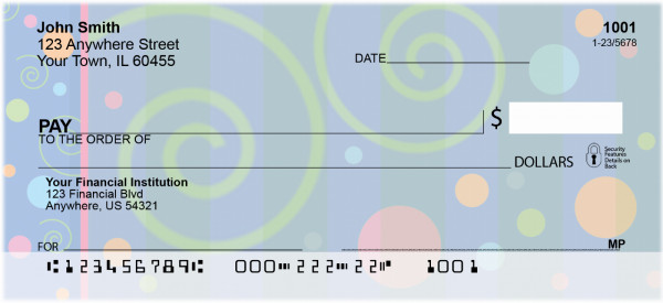 Groovy Inspirations Personal Checks | BBD-48