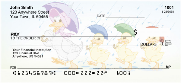 Ducks On Parade Personal Checks | BBD-71