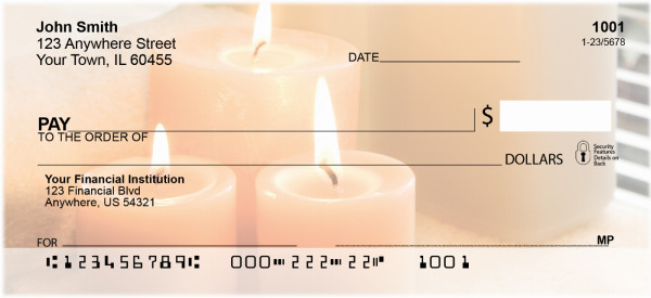 Candlelight Spa Personal Checks | BBE-94