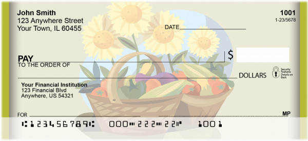 Seeding The Harvest Personal Checks | BBF-65