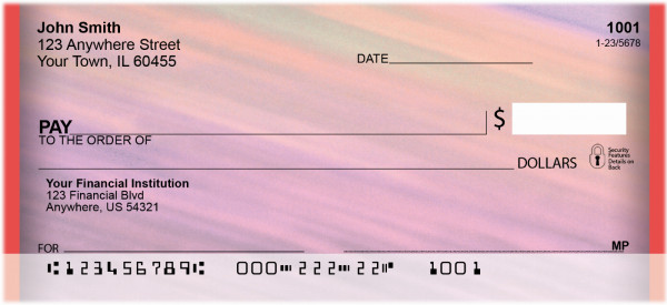 Color Crazy Personal Checks | BBG-64