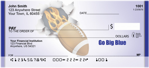 Go Big Blue Personal Checks | BBH-02