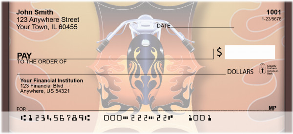 Biker Badge Personal Checks | BBH-59