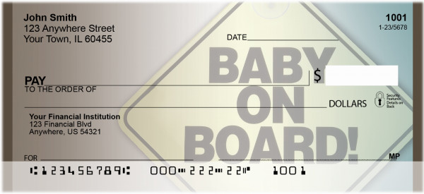 Baby On Board Personal Checks | BBH-86